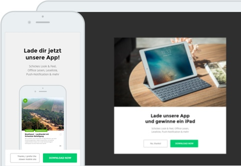 WordPress to App Journey
